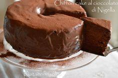 Chiffon cake al cioccolato di NigellasepPastaenonsolo