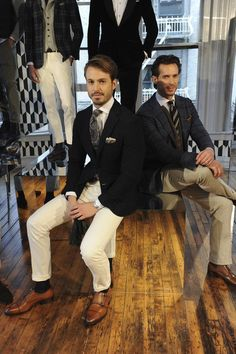 Male Fashion Trends: Suit Supply Fall/Winter 2016-17 - New York Fashion Week Men's