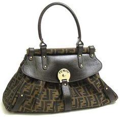 Fendi Handbag Large 8BN144 Zucca Item #8BN144zucca Retail Price$800.00