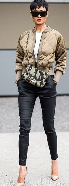 Military Chic Outfit by Micah Gianneli
