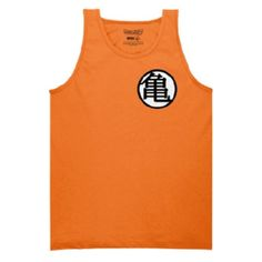 Get it at GeekGirl.store! Kamehame-hey girl! Channel your inner Goku with this DBZ tank featuring the iconic orange and the kame symbol. Price varies by size.