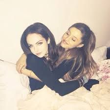 cuddle up guys #socute #ariana