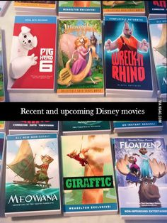 In Zootopia, animal versions of Disney movies are for sale. (Hidden Disney) #Zootopia #BigHero6 #Tangled #WreckItRalph #Moana #Gigantic #Frozen