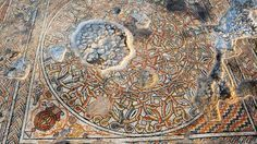 Archaeologists have uncovered an extraordinary mosaic that wouldve been used as the floor of a public building during the Byzantine Period in what is today Israel.