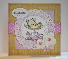 LOTV, card for baby girl