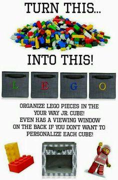 LEGO fanatics need to be organized! @lego #lego. www.mythirtyone.com/105611