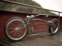 40 Unusual & Unique Bicycles Seen Around the World Retro Bicycle, Bicycle Art, Bicycle Design, Bike Wagon, Cruiser Bicycle, Chopper Moto, E Mountain Bike, Wood Bike, Recumbent Bicycle