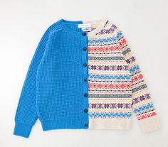 ポール バイ ポール・スミスより左右で異なるデザインニット - ポール本人がビジュアルを撮影 Fashion Drug, Cute Fashion, Diy Clothes And Shoes, Yarn Inspiration, Knitting Designs, Pull, Knitwear, Knit Crochet, My Style