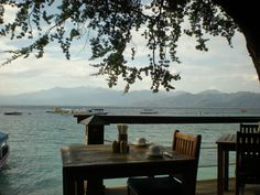 Gili Trawangan, The Beach House alfresco cafe