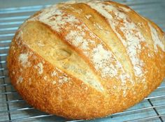 Home made bread in 5 minutes a Day. Love, love, love this! It really is this easy and SO good!