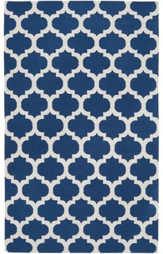 Surya Frontier FT84 Royal Blue Rug available at Rugs USA. #blue rug