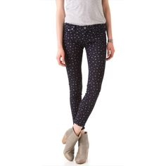 AG Jeans - The Legging Ankle Super Skinny Star Star print | NWT | dark wash | sold out in stores & online! | RARE AG Adriano Goldschmied Jeans Skinny
