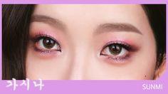(ENG)선미 가시나 무대 메이크업 SUNMI 'Gashina' ✧ Half Makeup   코코초