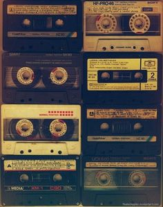 Old School Cassette Tapes (the improved version of the Music Aesthetic, Retro Aesthetic, Mixtape, Paul Banks, Casa Do Rock, Thirteen Reasons Why, 13 Reasons, New Retro Wave, The Cure