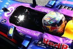 Sebastian Vettel Silverstone 2014