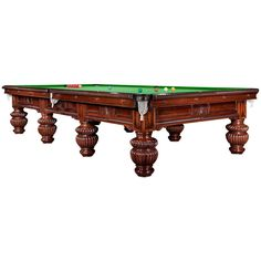 Magnificent Decorative Billiard, Snooker, or Pool Table | From a unique collection of antique and modern game tables at https://www.1stdibs.com/furniture/tables/game-tables/
