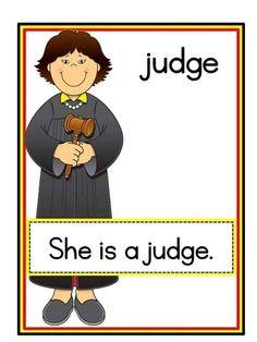 jobs-flashcards-6 | funnycrafts English Worksheets For Kids, English Lessons For Kids, English Fun, English Reading, English Activities, Preschool Learning Activities, Learn English, Kindergarten Jobs, Community Helpers Kindergarten