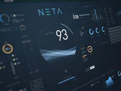 NETA music hud interface