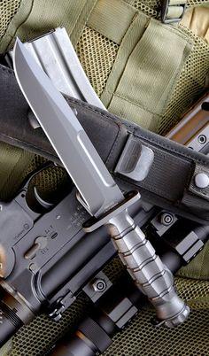 EXTREMA RATIO 128MK2B MK2 Tactical Military Surival Fixed Blade Knife