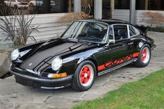 '73 Porsche 911 Carrera RS -- race
