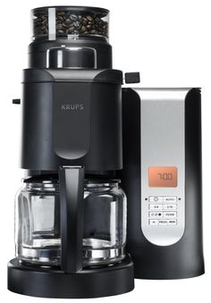 Inspired by professionals and designed for connoisseurs, KRUPS products have been built with three key attributes in mind: Passion, Precision and Perfection. The KRUPS Grind and Brew coffee maker embodies the mastery of the key components. Espresso Machine Reviews, Coffee Maker Reviews, Best Coffee Maker, French Press Coffee Maker, French Coffee, Cappuccino Maker, Espresso Maker, Espresso Coffee, Coffee Coffee