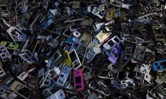 electronic waste dump China