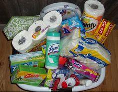 Laundry Gift Basket