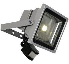 LED-Flood Floodlight met sensor 30 watt - 1