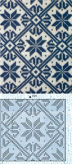 Nice Stitch design for my electronic knitting machine