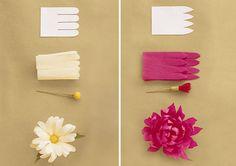 Flores de papel | Chá das Panelas