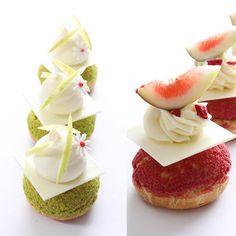 - PASTRYSTUDIO BY GARUHARU - One day class! - 8월 원데이 클래스 Choux! 수업 일정이 오픈 되었습니다. 자세한 내용은 www.garuharu.com 에서 확인하세요. - GARUHARU Seoul . Pastry Design, Fancy Desserts, French Pastries, Eclairs, Some Recipe, One Day, Culinary Arts, Party Snacks, Mini Cakes