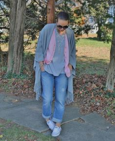 How to Style a Boyfriend Cardigan | Thirty Something Fashion - Carly Walko