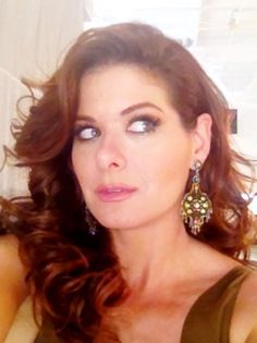 I am AOK with people saying I look like this stunner. #celebdoppleganger #debramessing