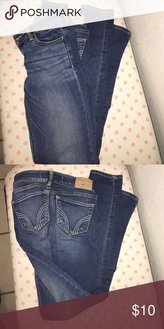 Hollister Jeans Used but still lots of life left in them Hollister Jeans Skinny