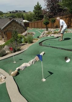 Mini Golf when the weather's warmer