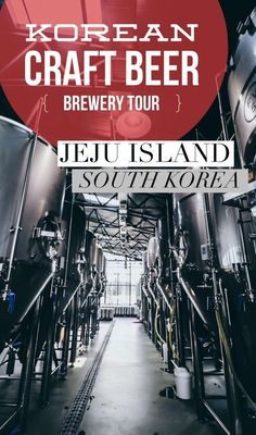 Everything you need to know about the craft beer brewery tour at Magpie Brewing Company on Jeju Island, South Korea, including directions to get you there! Travel tips for food and travel in Asia.