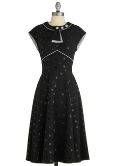 Stop Staring! Every Dot of You Dress | Mod Retro Vintage Dresses | ModCloth.com