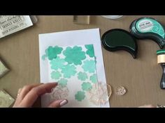 Make It Monday #259: Ombré Cluster Stamping - YouTube