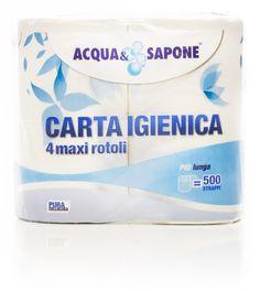 Carta Igienica 4 maxi rotoli