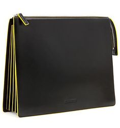 Jil Sander, portfolio clutch bag