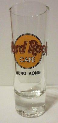 Hard Rock Cafe Hong Kong Shot Glass