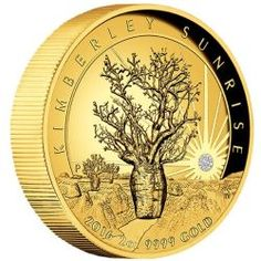 97055f54e $500 Kimberley Sunset 2016 2oz 99.99% pure Gold Proof High Relief coin  featuring a spectacular