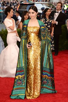 Fan Bing Bing   Met Gala 2015: 61 of the best, wildest and most bare red carpet looks
