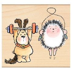 Critter Workout - Penny Black, Inc.