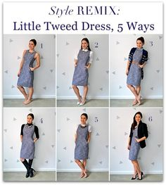 Today's post is all about this little tweed dress from J.Crew.