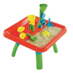 #OSASandAndWaterTable Sand And Water Table, Kids Activity Table, Sand Toys