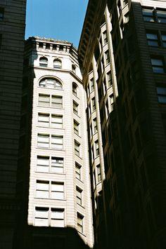 https://flic.kr/p/d66qNm | Light and Shadow | Broad Street-Phila Pa-35mm NikonEM Kodak Ektar 100