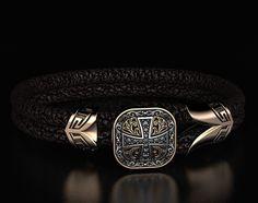 """Fashion Jewelry Black Onyx Gemstone Handmade Ethnic 925 Sterling Silver Jewelry Bracelet 7-8"""""""