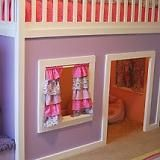Any kid would love this Playhouse Loft Bed for boys you coud make it a firetruck