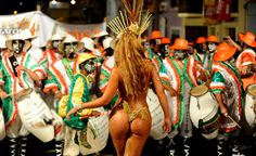 party at Carnival in Rio! (end of February to Fat Tuesday)